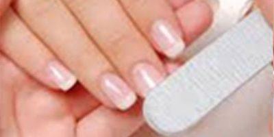 manicura rectangular